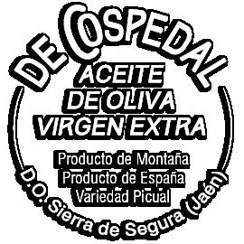 Aceite de oliva De Cospedal | Picual | DO Sierra de Segura Logo