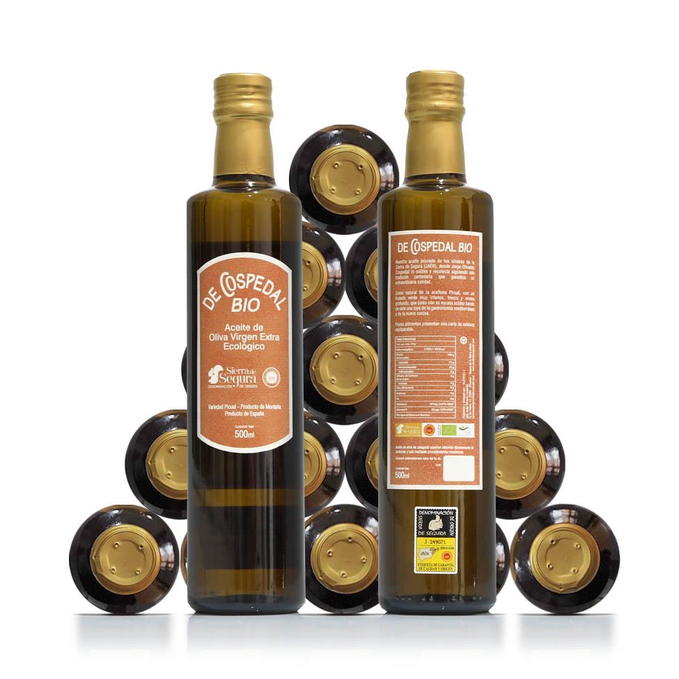 Aceite de Oliva Virgen Extra Biológico