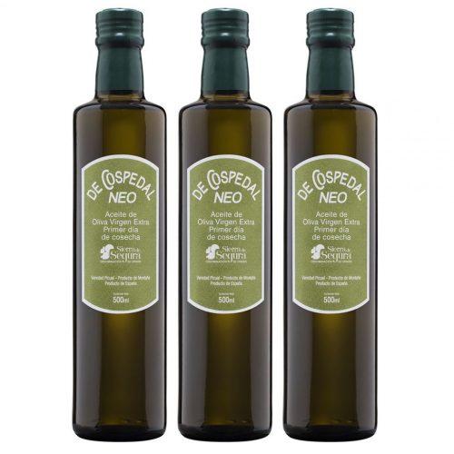 Pack de tres Botellas Aceite Recolección Temprana